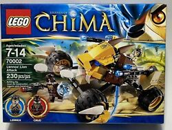 Sealed Lego Legends Of Chima 70002 Lennoxand039 Lion Attack New Free Shipping