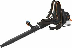 31cc Engine 2 Cycle Backpack Leaf Blower Gas Powered Electric Push Button Start