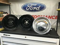 1972 Mustang Mach 1 Wheels Dog Dishes Trim Rings