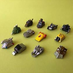 Rare Vintage Bbc Robot Wars Diecast Pull Back Friction Cars Collection X12 1990s