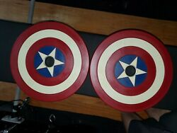 Onnit Captain America Olympic Plates 45 Lbs
