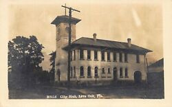 FL - 1910's REAL PHOTO Florida City Hall at Live Oak FLA - Suwanee County