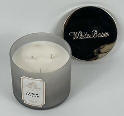 White Barn Bath amp; Body Works French Baguette 3 wick 14.5 oz Scented Candle NEW $30.95