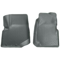 32002 Husky Liners Floor Mats Front New Gray For Chevy Olds Trailblazer Envoy Xl