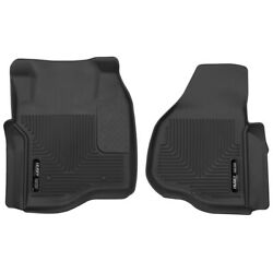 53301 Husky Liners Floor Mats Front New Black For F250 Truck F350 F450 Ford