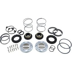 Yhc70003 Yukon Gear And Axle Set Of 2 Locking Hubs Front New For Gmc K3500 Pair
