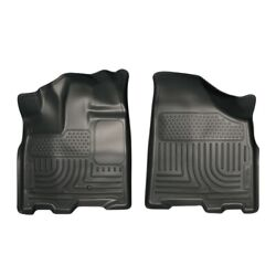 18851 Husky Liners Floor Mats Front New Black For Toyota Sienna 2011-2018