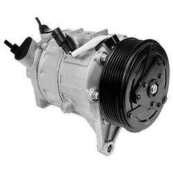 471-5004 Denso A/c Ac Compressor New With Clutch For Nissan Altima 2007-2012