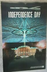 Independence Day Id4 Rare Lenticular Movie Poster 24x38 1996