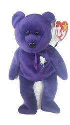 Ty Beanie Baby 💎princess The Diana Bear From 1997 🔥 Rare And Retired 🔥mint 🐻