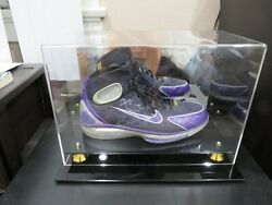 Kobe Bryant Game Worn Shoe dual auto psadna 11 super rare one of kind!!!