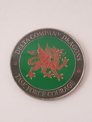 Delta Company Dragons, Task Force Courage Challenge Coin