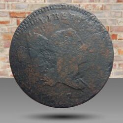 Half Cent/penny 1797 Incredible Triple-struck Obverse Double-struck Reverse Wow