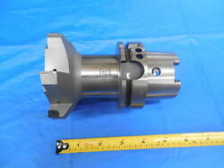Apex Hsk80a Integral 100 Mm Diamond Tipped 6 Flute Face Mill Tool Holder 100mm