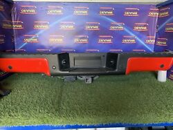 2009-2014 Ford F150 Rear Bumper W/tow Package Painted Park Assist Oem Hitch