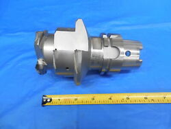 Hsk63a 3 7/8 Dia Integral Diamond Tipped End Mill Tool Holder 60890458/rt 3.875