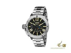 U-boat Classico Sommerso Automatic Watch, Black, 46 Mm, 9007/a/mt
