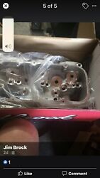 Edelbrock Brand New Heads In Boxes Pn 614269 Raw Bbc