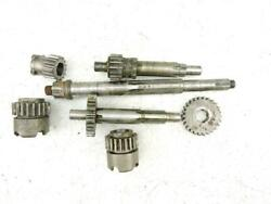 Gearbox Transmission Gears Layshaft Mainshaft Parts Vtg Mustang Scooter 1355br