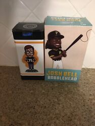 Pittsburgh Dad Bobblehead 500 Made Steel City And Josh Bell 2020 Pirates Lot Of 2