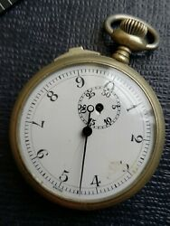 Rare Vintage Heuer/rose Watch Co,stop Watch,ticks And Stops For Restoration.