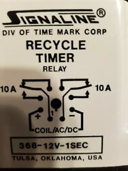 Time Mark 98a00305-02 Recycle Timer Relay 10a 368-12v-1sec