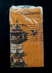 DEPT. 56 SNOW VILLAGE HALLOWEEN NEW WITCH WAY HOME TOWER WITCH HOLLOW