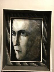 Evelyn Williams UK England Circa 1985-89 Boxed Head Relief