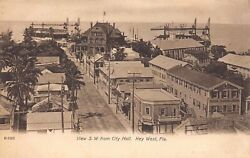 FL - 1900's Florida Aerial from City Hall of Key West FLA - Monroe County