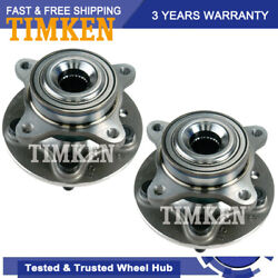 Timken Front Wheel Hub And Bearing Pair For 05-09 Land Rover Lr3 Range Rover Sport