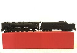 Key Imports Ho Scale Brass Nyc L-4b 4-8-2 Mohawk Locomotive And Tender Ob