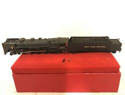 Key Imports Ho Scale Brass Nyc L-3a 4-8-2 Painted Locomotive And Tender Ob