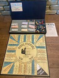 Milton Bradley Vintage 1936 Easy Money Board Game Very Good Condition For Age