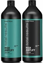 Matrix Total Results High Amplify Volume Shampoo And Conditioner Duo 33.8 / Liter