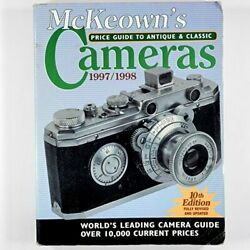 Mckeown's Price Guide To Antique And Classic Cameras 1997-1998 10th Ed By M…