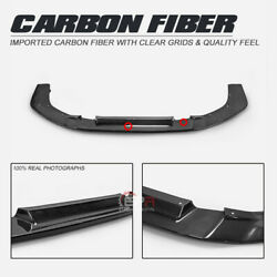 For Evo 10 X Vrsv2 Wide Style Carbon Front Bumper Lip Only Fit Wide Body Kit