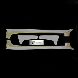2pcs Vrsstyle Ultimate Frp Side Skirt With Air Shroud For Mitsubishi Evo 10 X