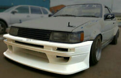 For Toyota Ae86 Levin Ruf Style Front Bumper Body Kits Frp Unpainted Parts