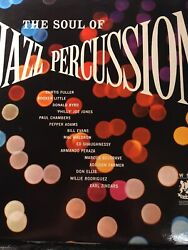 The Soul Of Jazz Percussion,warwick Records Vintage Vinyl