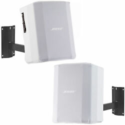 Bose S1 Pro Pa System W/ White Play-through Cover And Wall Mount - 2 Pack