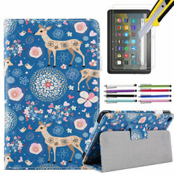 Case For All-new Fire Hd 8 10th Gen 2020 Stand Cover W/ Auto Sleep/wake