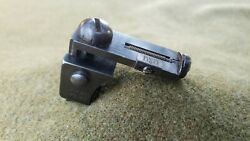 Lyman 57 Sme Micrometer Rear Sight 1903 Springfield Incomplete Missing Parts