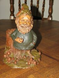 Tom Clark Gnomes - Rare, Retired, And Hand Signed Reuben