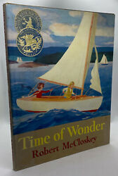 Robert Mccloskey / Time Of Wonder Signed 1st Edition 1957