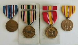 Us Army National Defense American Campaign Southwest Asia Pacific Medal 1941-45