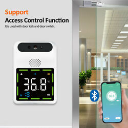 Wall Mounted Automatic Non-contact Infrared Thermometer Temperature W/ Bluetooth