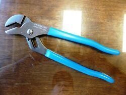 Vintage 90and039s Channellock 420 9.5 Tongue And Groove Pliers Stamped Characters New