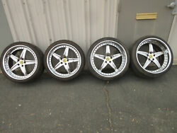 Ferrari 360 Modular Wheels Aftermarket Front And Rear 19 Inch Front / 20 Inch Rear