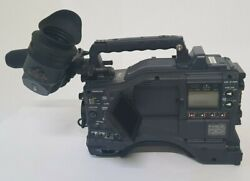 Panasonic Aj-hpx2000p High Definition Video Camera W/electronic Hd View Finder.