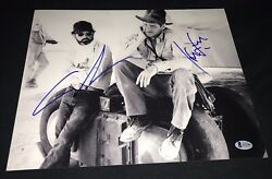 Harrison Ford Signed 11x14 Photo George Lucas Indiana Jones Poster Star Wars Bas